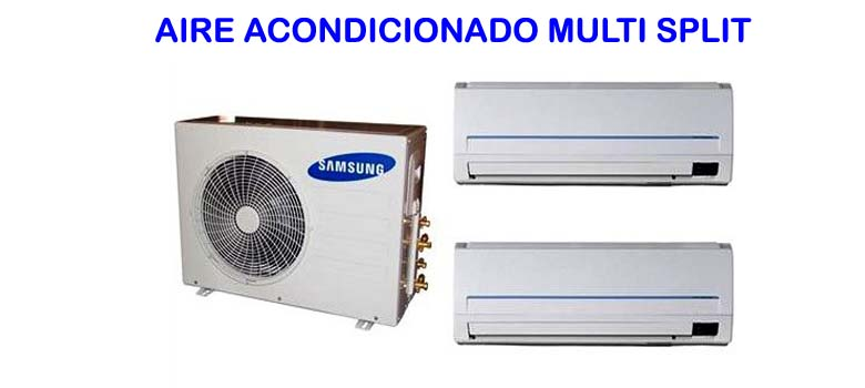 aire acondicionado multi split